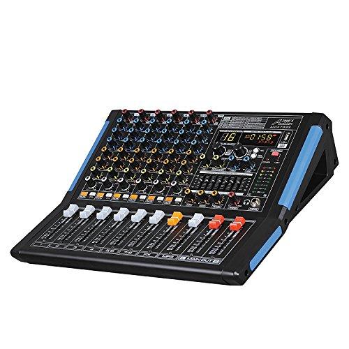 Audio 2000s Audio Mixer Sound Board (8-Channel Bluetooth)
