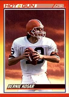 1990 Score Football Card #319 Bernie Kosar