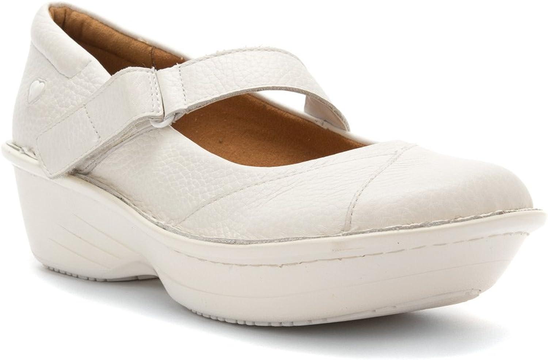 Nurse Mates Grady Mary Jane Style Nurse shoes, Black or White, Regular or Wide