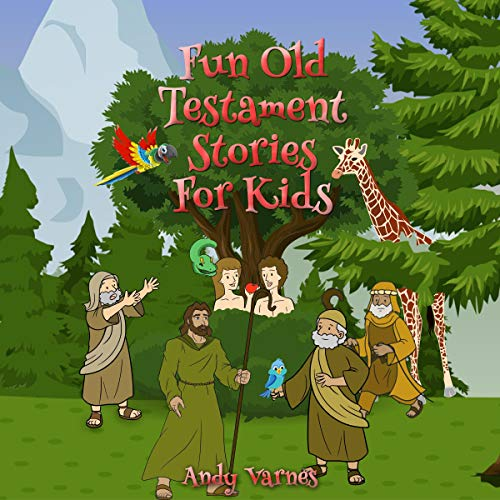 Fun Old Testament Stories for Kids cover art