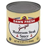 Dawn Fresh Sauce Steak Mushroom 6 OZ (Pack of 2)