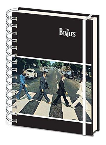The Beatles Cuaderno de Notas con Espiral A5–Abbey Road