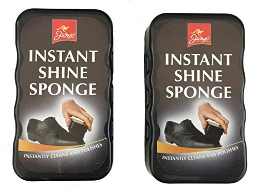 Jump Instant Shoe Shine Sponge 2 Pack - JMP1004-36A