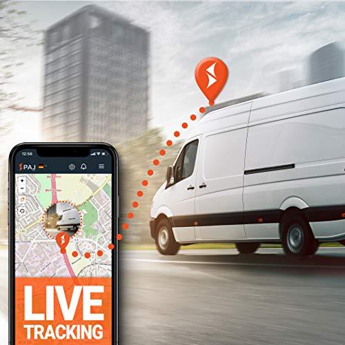 4G GPS Tracker für Auto und Fahrzeuge, Vehicle Finder 1.0 von PAJ GPS, Direktanschluss 10-30 V, neueste Technologie, weltweite Live-Ortung per App