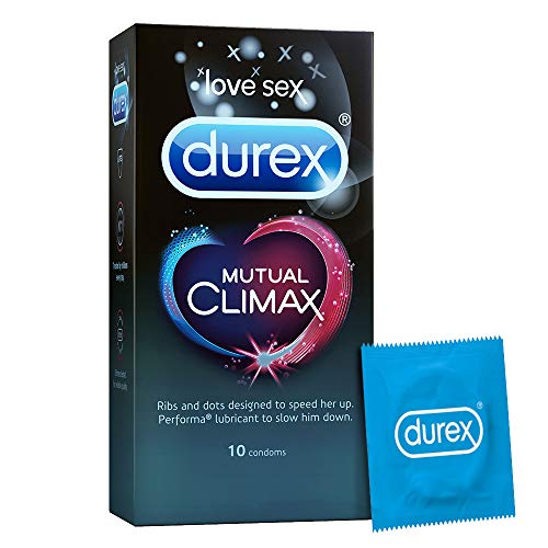 Durex Mutual Climax Condoms - 10 Count