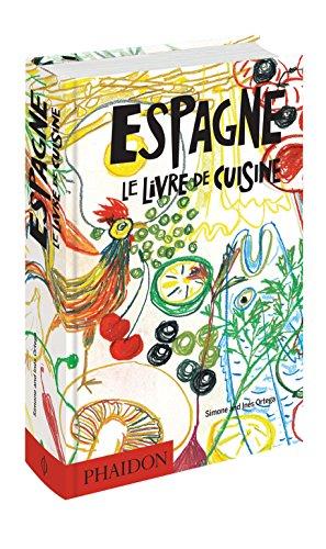 Espagne, le livre de cuisine : 1080 recettes