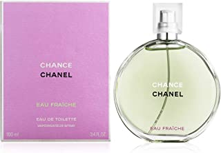 ChaneI Chance Eau Fraiche Eau de Toilette Women Spray 3.4 Fl. OZ. / 100ML.