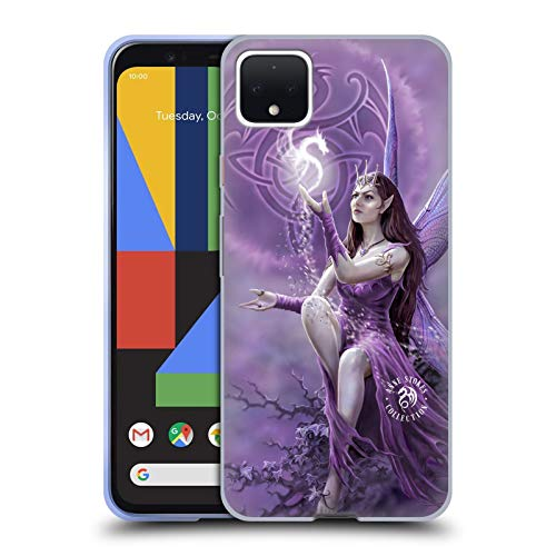 Head Case Designs Officially Licensed Anne Stokes Celtic Fairies Soft Gel Case Compatible with Google Pixel 4 XL
