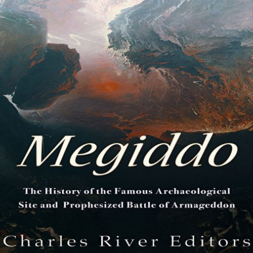 Megiddo audiobook cover art