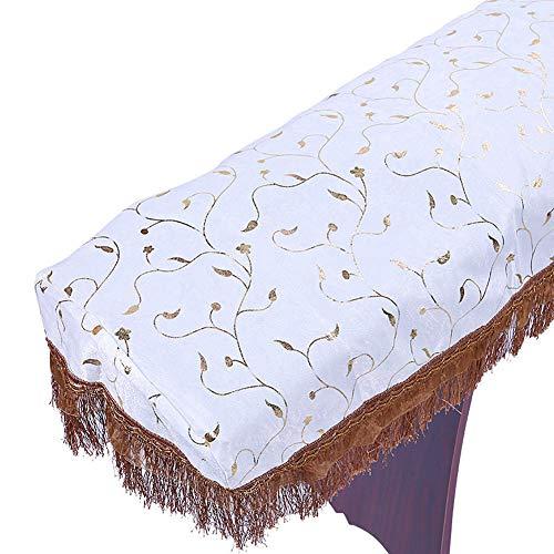 DishyKooker Praktische Guzheng Cover Dust Guard Baumwollstickerei Dekorative Muschel Musikinstrumententeile