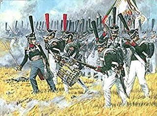Historical Miniatures - Napoleonic 1:72 Zvezda Russian Heavy Infantry - Grenadiers 1812-1814