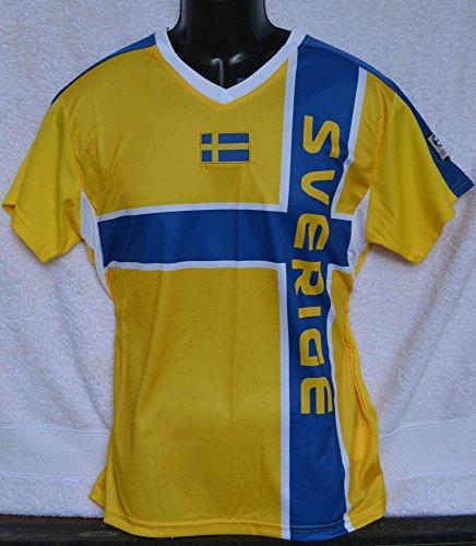 Suecia Camiseta WM 2018tamaño XL Camiseta