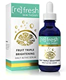 Triple Brightening Skin Serum - Daily Active Serum Dark Spot Corrector for Face