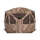 Barronett Pentagon Ground Hunting Blind, 4 Person Pop Up Portable
