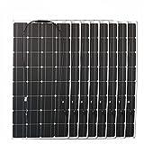 WSGLZ Kit de paneles solares, cargador de batería monocristalino...