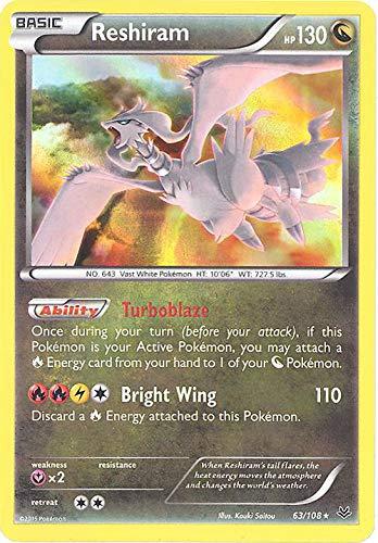 Pokemon - Reshiram (63/108) - XY Roaring Skies