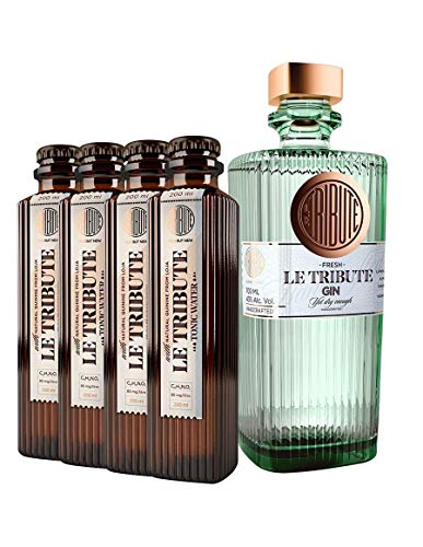Le Tribute Gin 0,7l & Tonic 0,8 im Set 43% Vol
