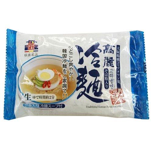 本場韓国の味 徳山物産 高麗冷麺 2人前×12袋(1ケース)