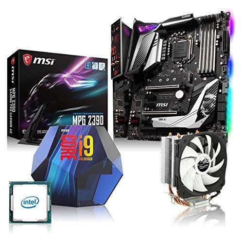 Memory PC Aufrüst-Kit Bundle i9-9900K 8X 3.6 GHz, MSI Z390 Gaming Pro Carbon, 16GB DDR4 RAM, fertig montiert und getestet