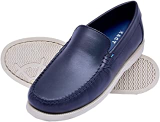 Gentle XACT Leather Loafer Shoes Best Fit Designer Ultra Comfort Leatherite Casual Loafers for Boys and Kids