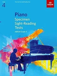 Piano Specimen Sight-reading Tests