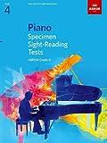 Piano Specimen Sight-Reading Tests, Grade 4 (ABRSM Sight-reading) music keyboards Nov, 2020