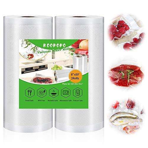Vacuum Sealer Bags, Food Vacuum Saver Bag Rolls,...