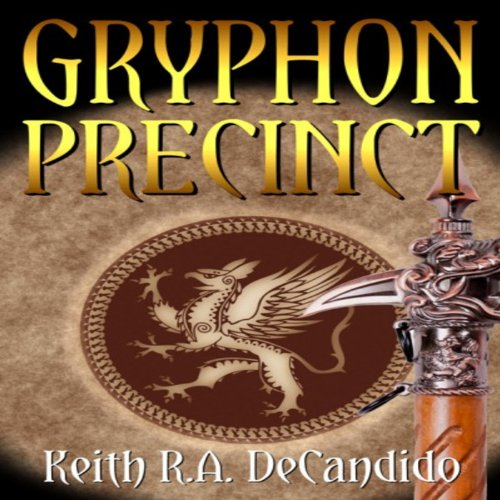 Gryphon Precinct audiobook cover art