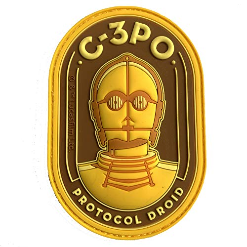 Musterbrand Star Wars Patch Unisex Protocol Droid Mehrfarbig ONE