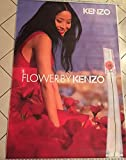 AFFICHE - Kenzo \ Flower - Parfum - Shu Qi - Abribus - 120x175 cm - AFFICHE / POSTER
