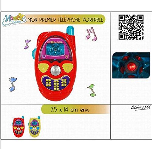 1 JEU D EVEIL MON PREMIER TELEPHONE SON ET LUMIERE + 24M JOUET