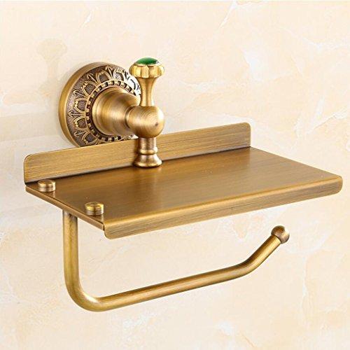Tout Bronze Rétro WC Porte-Serviette Porte-Rouleau Rollsnownow