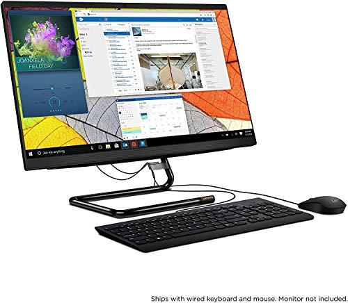 "2020 Newest Lenovo IdeaCentre 3 24 Business AIO 23.8"" FHD All in One Desktop Computer, 6-Core AMD Ryzen 5 4500U (Beats i5-1035G1), 32GB DDR4, 1TB PCIe SSD, Windows 10 Pro, BROAGE 64GB Flash Drive"