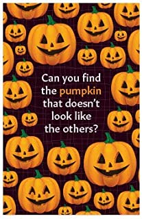 Find The Pumpkin (Mini Gospel Tract Card, Packet of 100, NKJV)