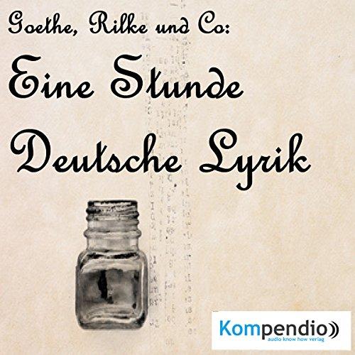 Eine Stunde deutsche Lyrik audiobook cover art