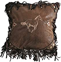 Carstens Embroidered Horse Pillow