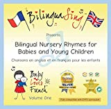 Francés para Bebés & CD de Canciones para niños   Canciones de cuna traducidas al francés y al inglés  La premiada BilinguaSing Baby Loves French Vol.1   Aprende francés. De 0 a 6 años.