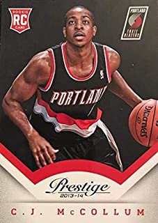 2013-14 Panini Prestige - CJ McCollum - Portland Trail Blazers NBA Basketball Rookie Card - RC Card #170