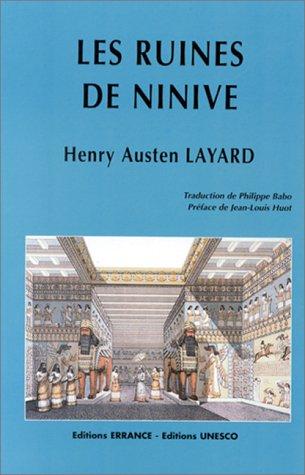 Les ruines de Ninive