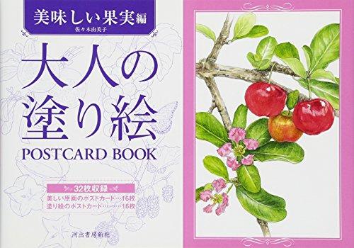 大人の塗り絵 POSTCARD BOOK 美味しい果実編の詳細を見る