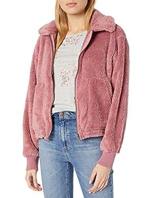 Billabong Women's Fleece Jacket, Soft Plum, L