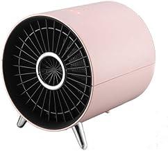 HBHHB Calefactor Pequeno 3 Temperatura Estufa Electrica Apagado Inteligente Uso Seguro Silence para Cuarto/Baño/Oficina 165 * 145Mm,Rosado