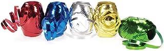 Darice 2916-63 Curling Ribbon Metallic Asst. Total Box.187 x 54.6 yd