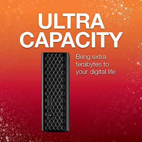 Seagate Backup Plus Hub - Disco Duro Externo de sobremesa Negro 6 TB