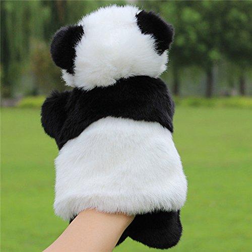 TSBB Panda marioneta de Mano bebé niños muñeco de Peluche Juguetes educativos Preescolar jardín de Infantes