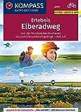 KOMPASS RadReiseFührer Erlebnis Elberadweg: von der Nordsee bei Cuxhaven bis zum Elbsandsteingebirge - 826 km. GPX-Daten zum Download. (KOMPASS-Fahrradführer, Band 6911)