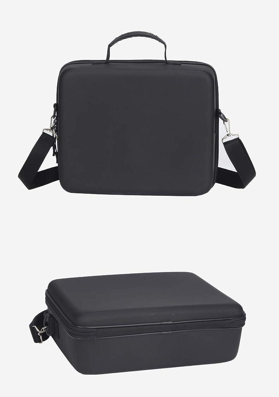 Aoile Storage Bag Shoulder Bag Hard Shell Backpack for Hubsan X4 Zino H117S Black