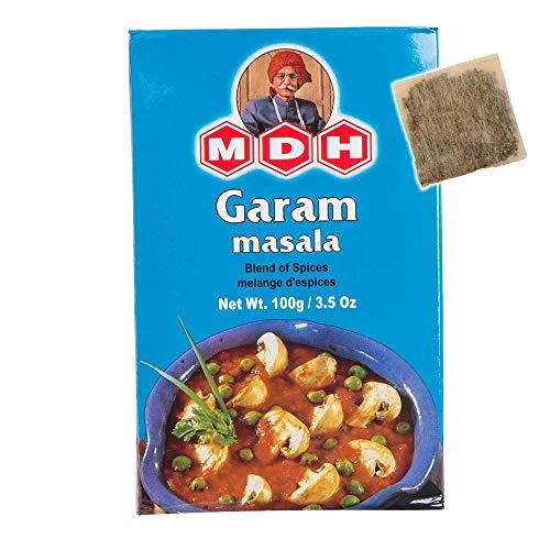 MDH ガラムマサラ 100g 1箱 チャイバック1包付き Garam masala