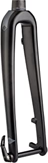 WHISKY - No.9 Carbon Fiber Cyclocross Bike Fork - 15mm x 100mm Thru Axle, 1-1/2 Inch Tapered Steerer, Post Mount Disc Brake