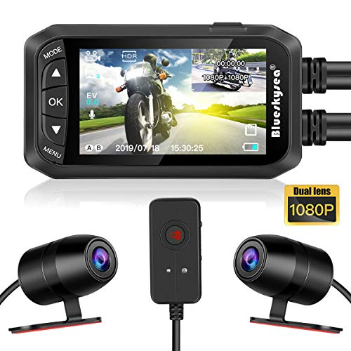 Blueskysea Blueskysea DashCam Kamera für Motorrad 1080P Dual Objektiv 2,7